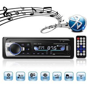 RADIO DE VOITURE Autoradio Bluetooth, autoradio stéréo 4x60W