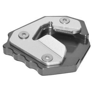 Extension de la Rallonge Plaque de B/équille Lat/érale pour F800GS 2008-2016 Duokon Support Lat/éral de Moto en Aluminium CNC noir