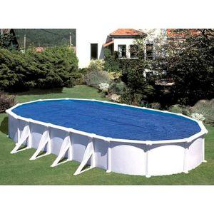BÂCHE - COUVERTURE  Bâche à bulles Gré pour piscine ovale 5,00 x 3,50