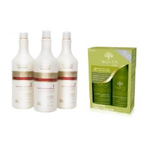 DÉFRISAGE - LISSAGE LISSAGE BRESILIEN INOAR G HAIR GHAIR 3X250 + DUO I
