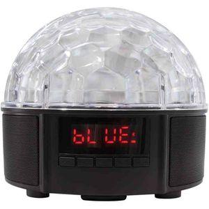 HAUT-PARLEUR - MICRO Haut-parleur Bluetooth 2 x 4 Watt Disco Lumineux