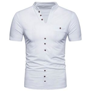 T-SHIRT Tee Shirt Henry Col Polo Homme Golf Tennis Casual
