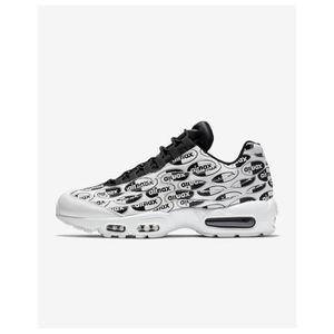 BASKET NIKE AIR MAX 95 PRM - AGE - ADULTE, COULEUR - BLAN