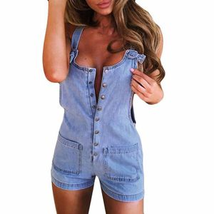 COMBINAISON Femmes Cowboy Pocket Vacances Combishort Pantalons