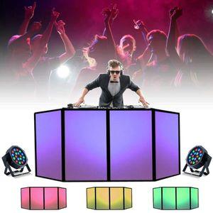 PACK SONO DJ FAÇADE WHITE + 2 PROJECTEURS PARLED DMX superbe