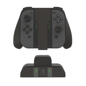 DOCK DE CHARGE MANETTE PDP Support Grip de recharge Pour Manettes Joy-Con