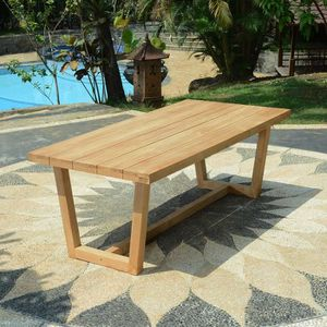 Table teck 300 cm
