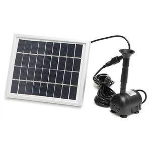 POMPE ARROSAGE TEMPSA Panneau solaire Pompe à eau Kit 2W 200L/h P