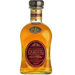 WHISKY BOURBON SCOTCH CARDHU Whisky - 12 ans d'age - 70cL - 40%