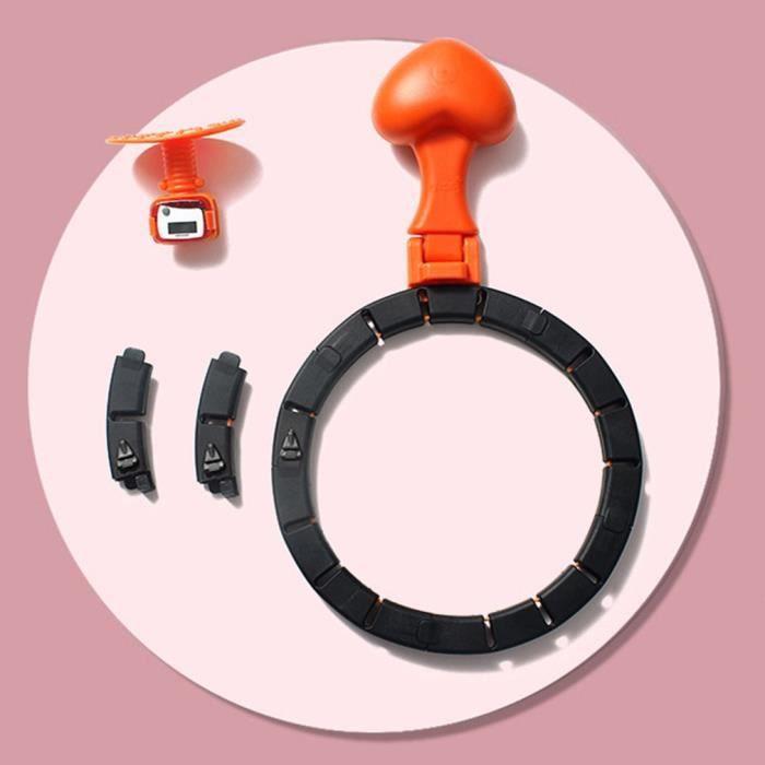 Hula Hoop Home sports et fitness essentiel taille fine et abdomen double glissière hula hoop cerceau amovible