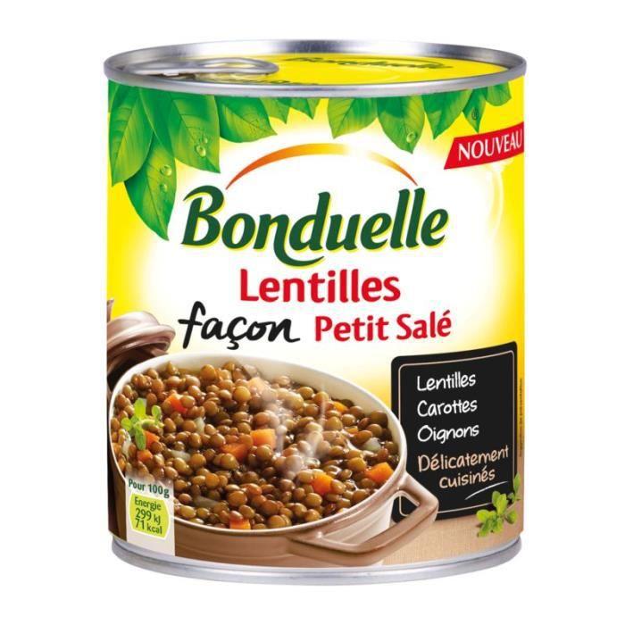 Lentilles façon petit salé - 4 / 4 bond