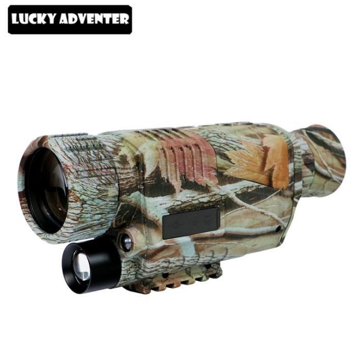 5X42 Digital infrarouge Vision nocturne lunettes monoculaire 200M gamme vidéo imageurs pour appareil photo de chasse