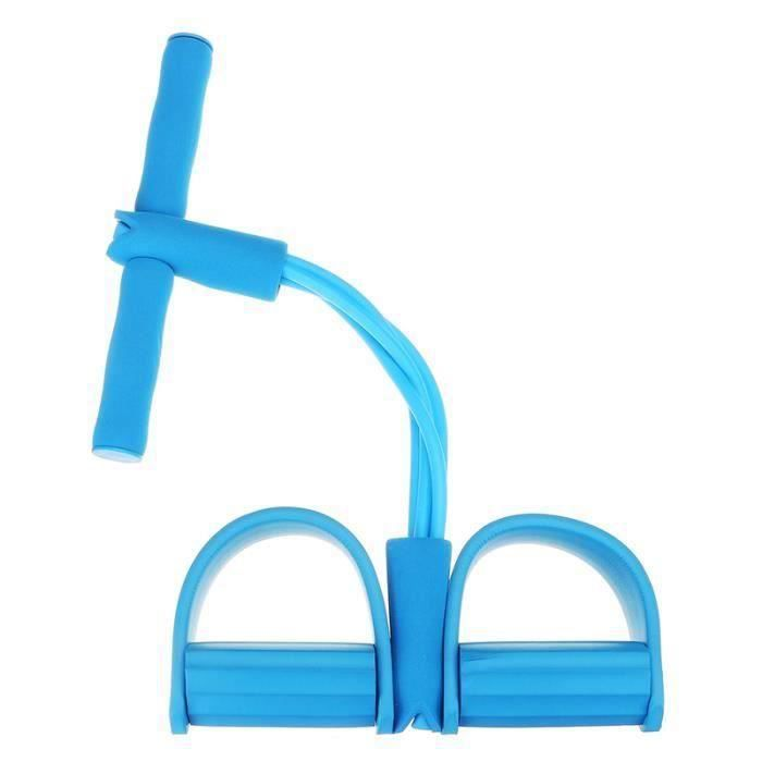 Sangle de musculation cuisses adducteurs pectoraux leg trainer Bleu