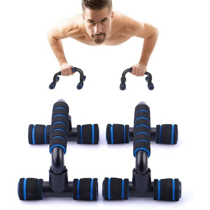 Lot de 2 Poignées de Pompe,Poignet Pompe,Push-Up Bars pour Musculation, Poignet Musculation,Poignée de Mousse,pour l'entraînement Mu