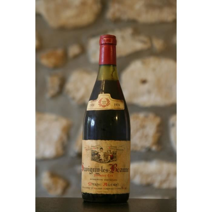 savigny Les Beaunes,rouge,Domaine Marie Andre 1974 Simple