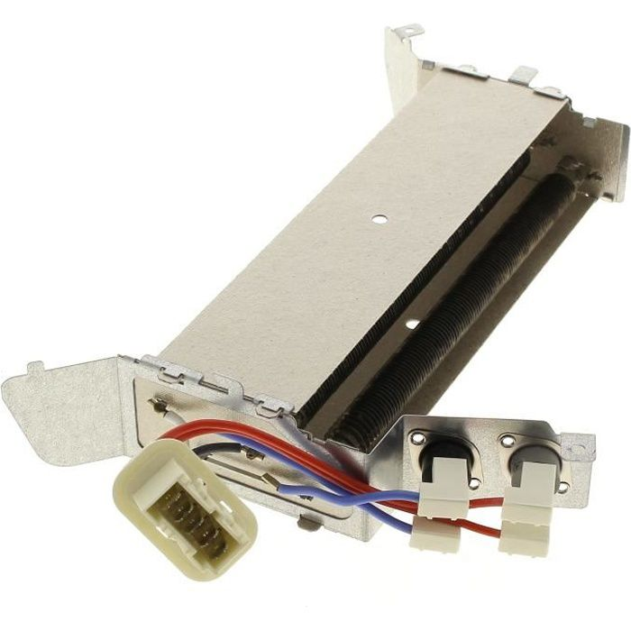 Resistance 600+1400w + thermostat pour Seche-linge Far, Seche-linge Bluesky, Seche-linge Beko, Seche-linge Friac, Seche-linge Listo