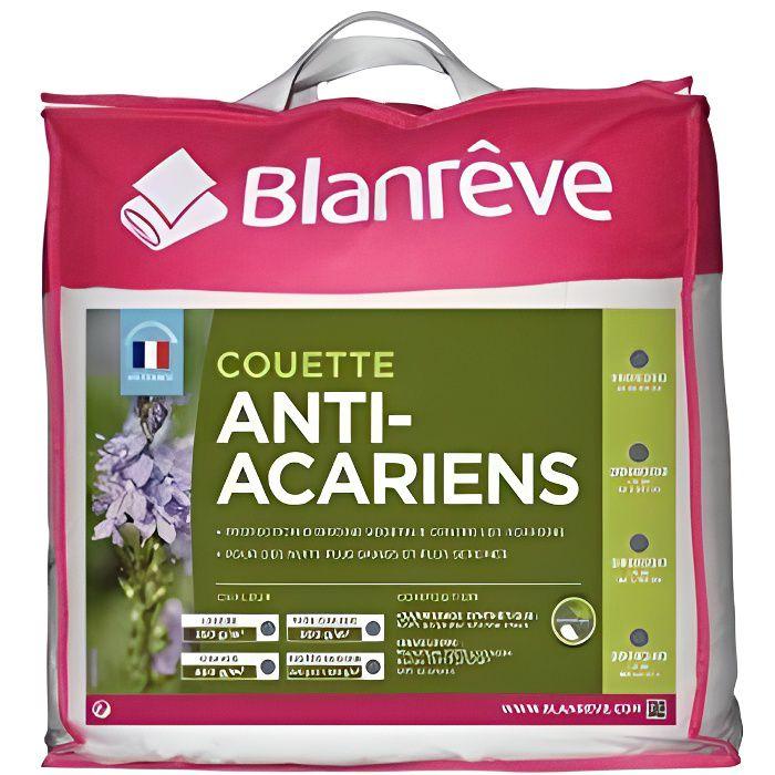 Blanrêve - Couette Très Chaude 500g-m² - Anti acariens - à base d'huiles essentielles - 240x220 cm , Blanc CTPHYVD022422