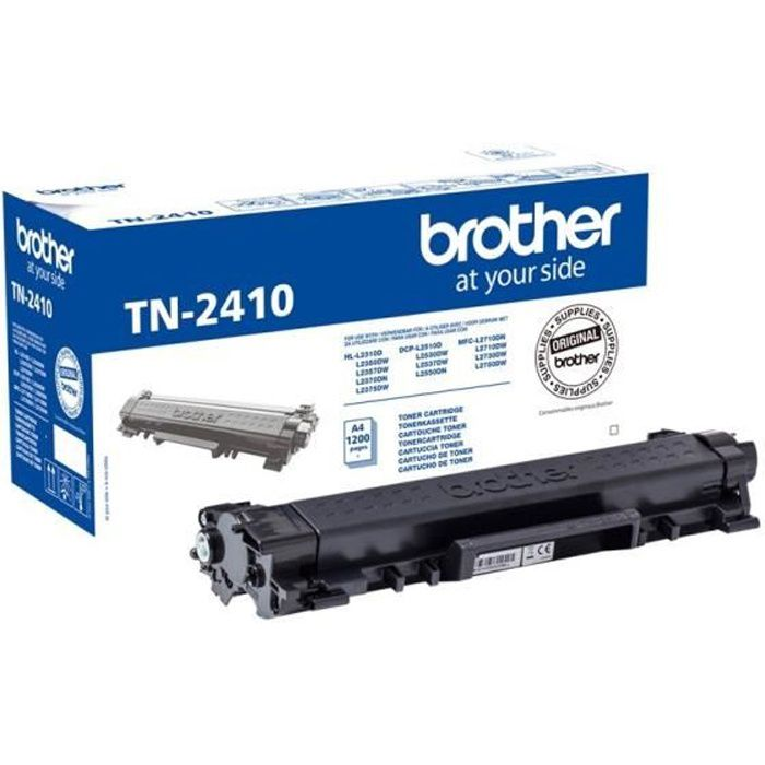 BROTHER Toner noir standard TN2410 - 1 200 pagesCARTOUCHE IMPRIMANTE