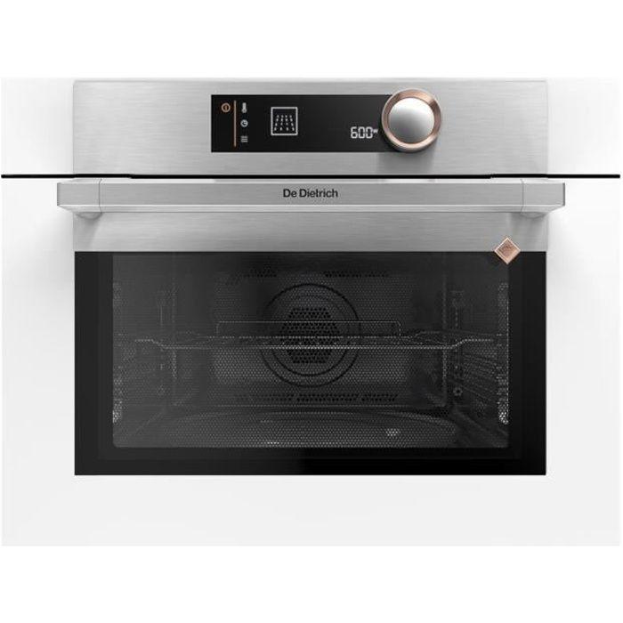 De Dietrich DKC7340W Four micro-ondes combiné grill intégrable 40 litres 1000 Watt blanc