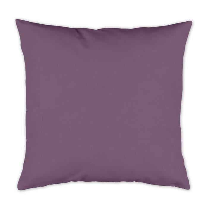 TODAY Coussin déhoussable 100% coton 40x40cm Figue