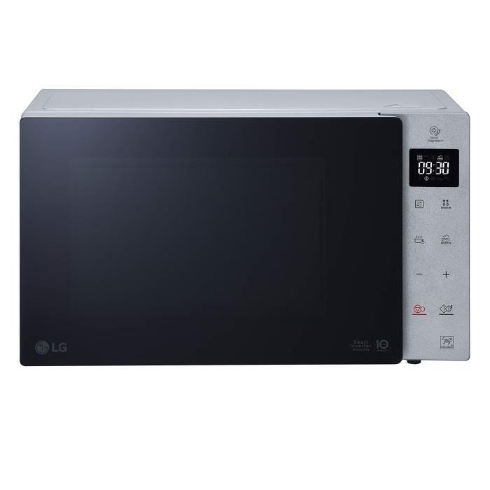 LG MH7235GPSS Micro-ondes avec grill Capacité 32 litres Puissance 1350 W Couleur argent
