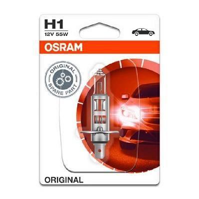 OSRAM Lampe de phare halogène Original H1