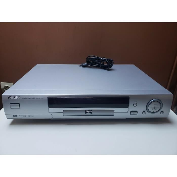 LECTEUR DVD PHILIPS DVD722 CD MP3 AUDIO VIDEO PLATINE DTS DOLBY DIGITAL