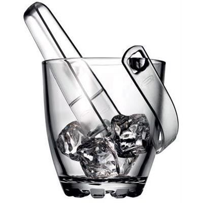 Seau à glaçons en verre Higland 12 cm 1611174 - réception