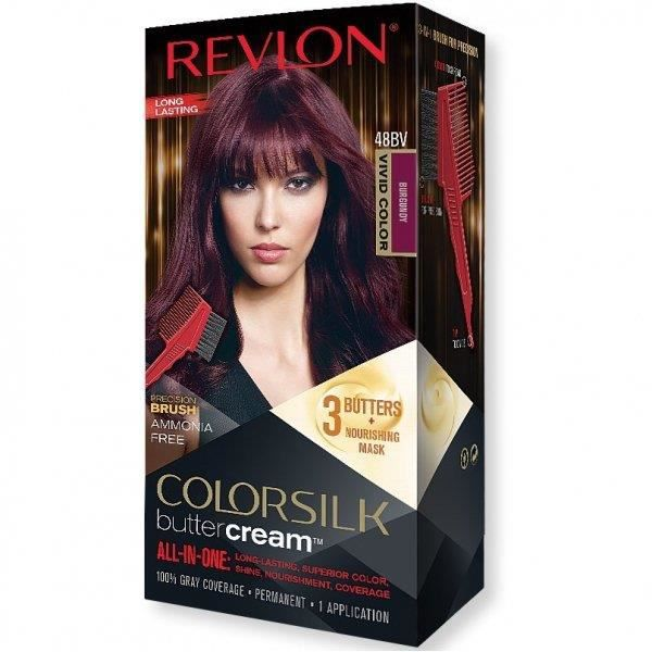 REVLON - Coloration Permanente Butter Cream COLORSILK - 48BV BourgogneRevlon