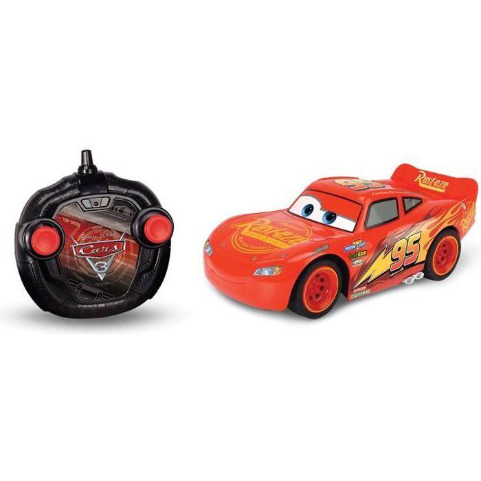CARS 3 Smoby Voiture Radio Commandée Flash McQueen 1/24 + Turbo
