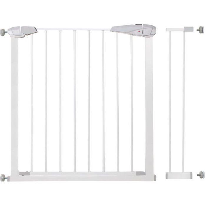 SPRINGOS® Barrière de Sécurité Bébé, Enfant pour Escaliers, Portes 76-99 cm