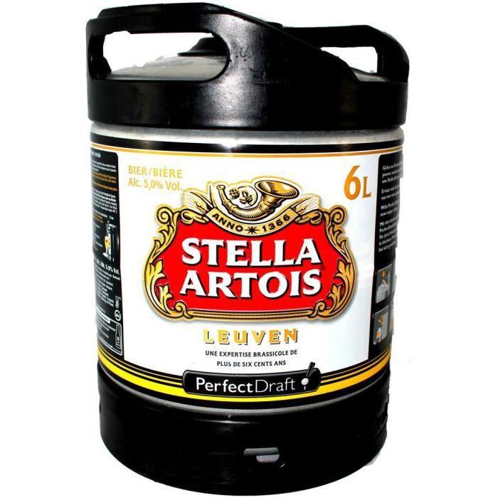 Fut bière Perfectdraft 6L Stella Artois