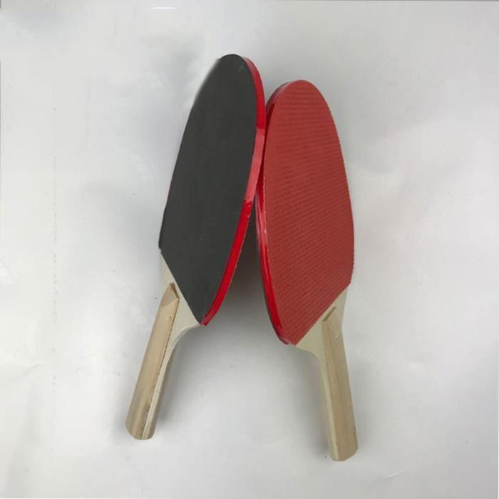 Raquette de ping-pong en caoutchouc pour débutants, entraînement de RAQUETTE DE TENNIS DE TABLE - CADRE DE TENNIS DE TABLE