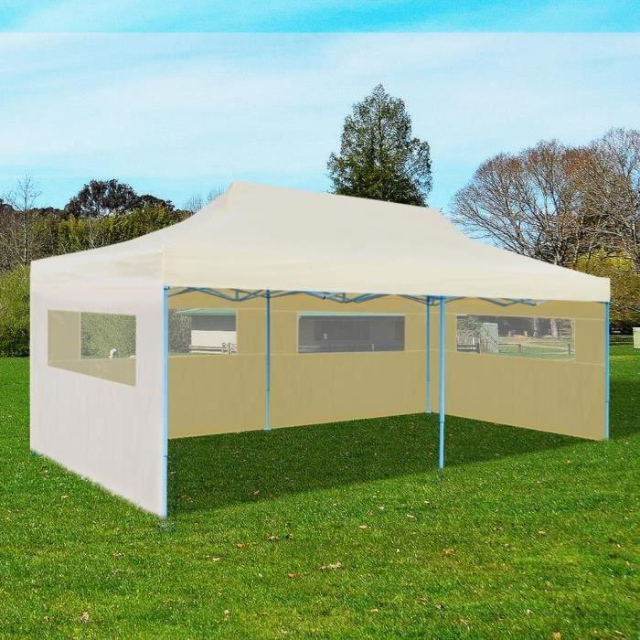 4x8m PVC Barnum Tente brasserie Tente Tente de jardin chapiteau pavillon Blanc Nouveau