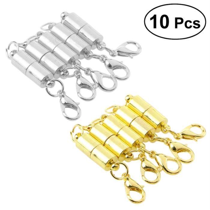 """30 fermoirs """"couleur Or/"""" pour fabrication bijoux collier bracelet NEUF"""