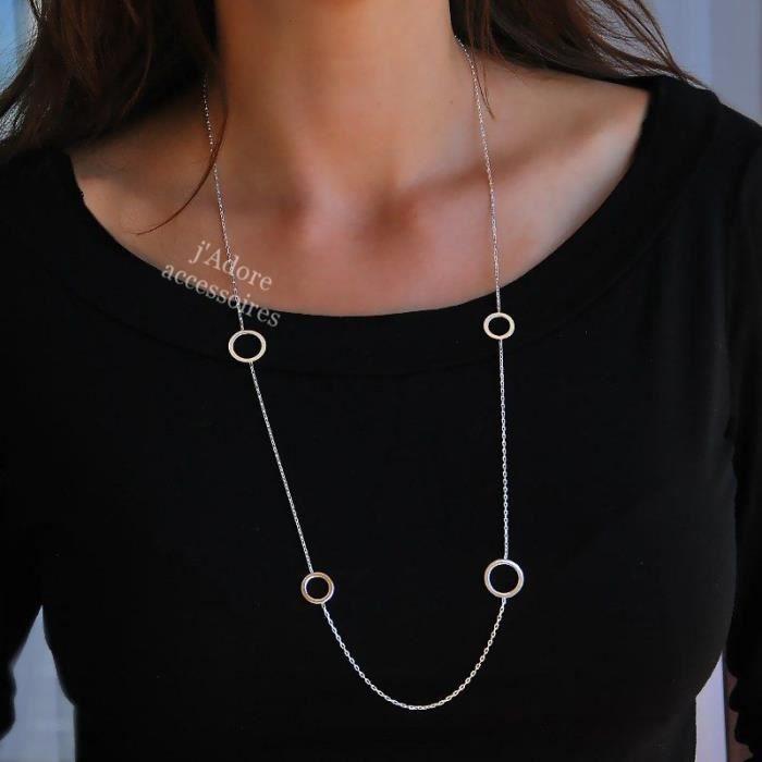 collier long sautoir