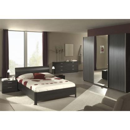 Chambre coucher adulte compl te ursula 180x200cm achat for Chambre a coucher adulte solde
