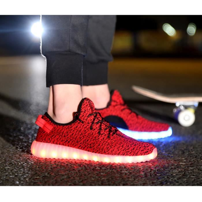 Led sneaker 2016 printemps nouvelle mode 7 coul...