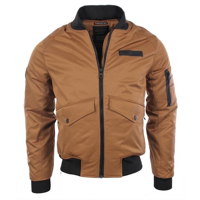 redskins homme blouson duplex hypnose camel hiver 2016 marron achat vente blouson les. Black Bedroom Furniture Sets. Home Design Ideas