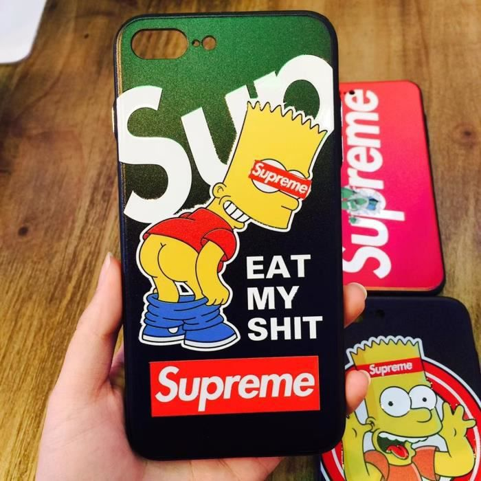 coque iphone 6 supreme bart