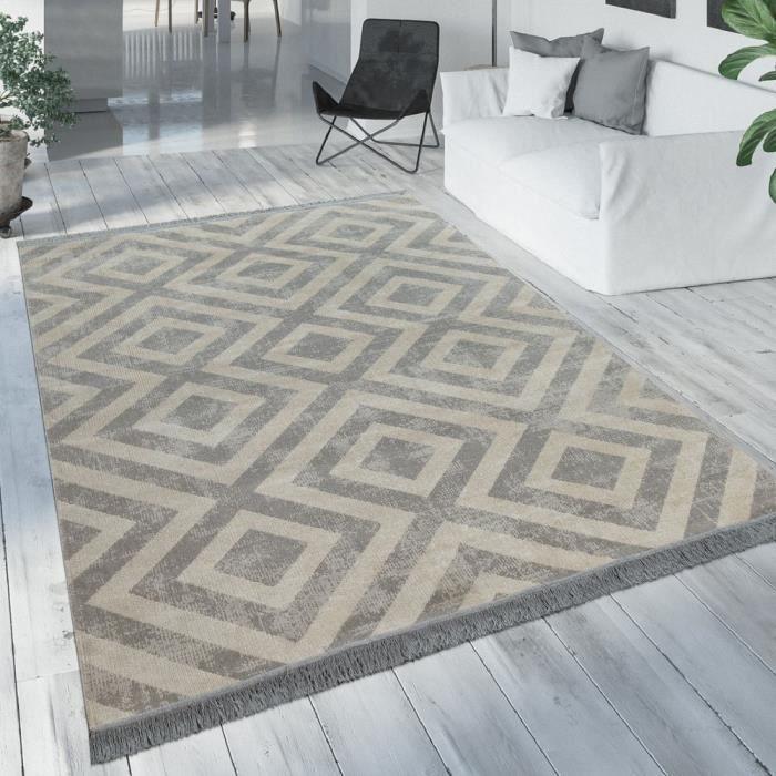 tapis scandinave gris  achat  vente pas cher
