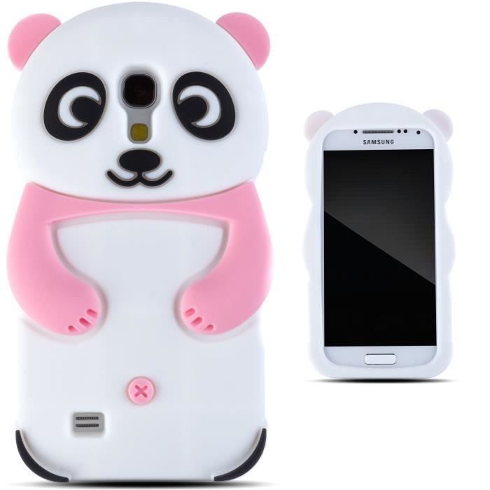 zooky rose panda coque samsung galaxy s4 mini achat. Black Bedroom Furniture Sets. Home Design Ideas
