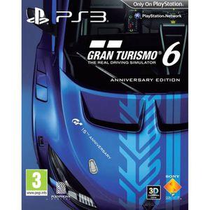 JEU PS3 GRAN TURISMO 6 EDITION Anniversaire / Jeu PS3