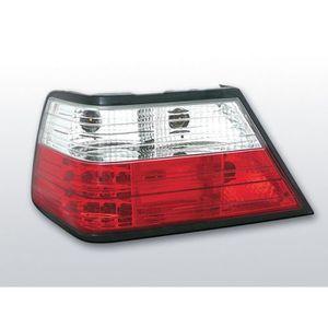 Feux arrières pour Mercedes w210 Classe E 95-03.02 rouge blanc