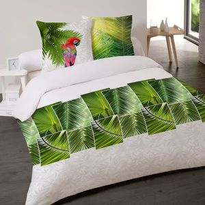 housse couette jungle achat vente housse couette jungle pas cher soldes d s le 10 janvier. Black Bedroom Furniture Sets. Home Design Ideas