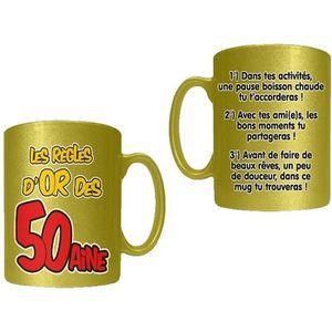 BOL Mug Règles d'Or 50 Aine