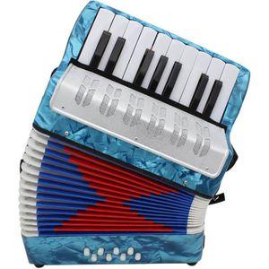ACCORDÉON Petit mini clé 17 8 basse accordéon Instrument de