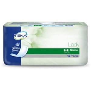 FUITES URINAIRES TENA LADY NORMAL SILKY PACK 12