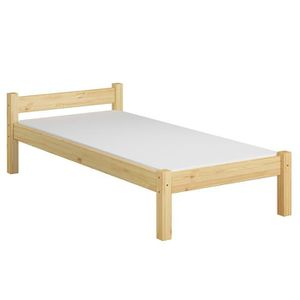 STRUCTURE DE LIT 60.36-09M lit solide en pin massif naturel, lit en