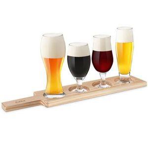 Verre à bière - Cidre Final Touch Verres à Bière de Dégustation Set